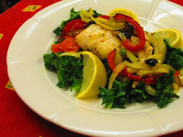 Baked Mediterranean Fish