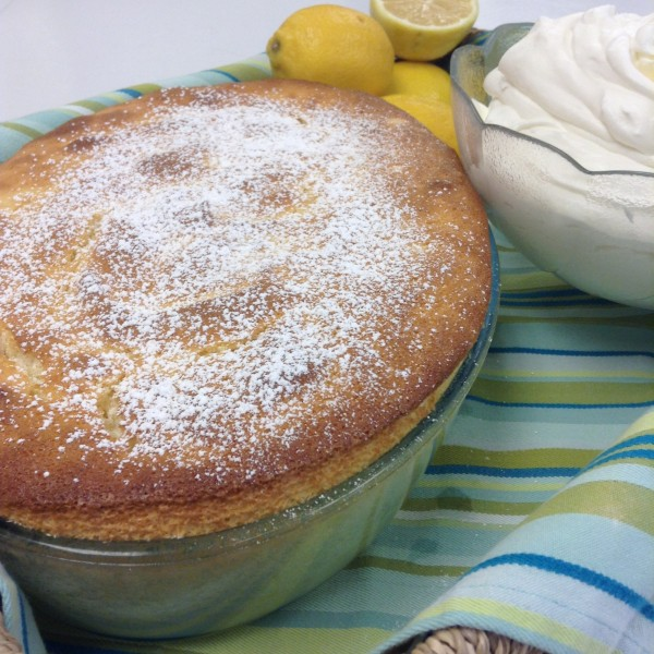 Lemon Souffle Pudding Cake | Recipes from a Monastery Kitchen