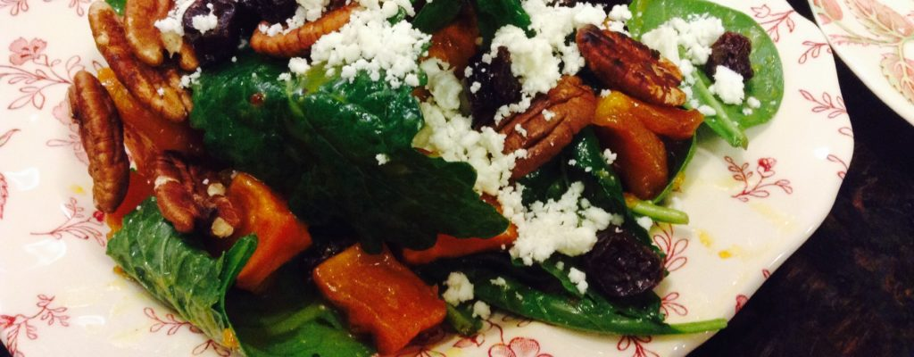 Recipe for WARM GOAT CHEESE SALAD made by Sisters of the Community of Jesus on Cape Cod.